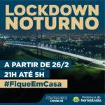 Lockdown noturno entra em vigor em Hortolândia nesta sexta-feira