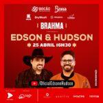 Após se recuperar da Covid, Edson confirma live ao lado de Hudson