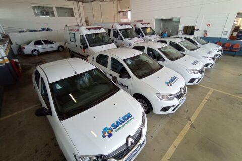 Prefeito Luiz Dalben entrega novos veículos para a Atenção Básica da saúde de Sumaré