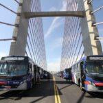 Quatro linhas metropolitanas passam a trafegar por novo trecho do Corredor Metropolitano a partir desta segunda-feira